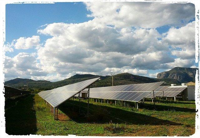 Inclinación placas solares