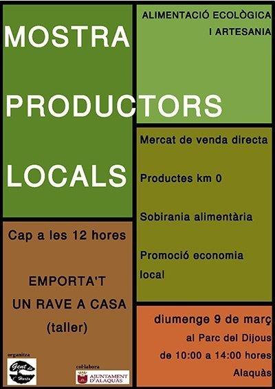 mostra productors locals alaquas 2014