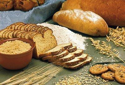 Pan realizado con cereales