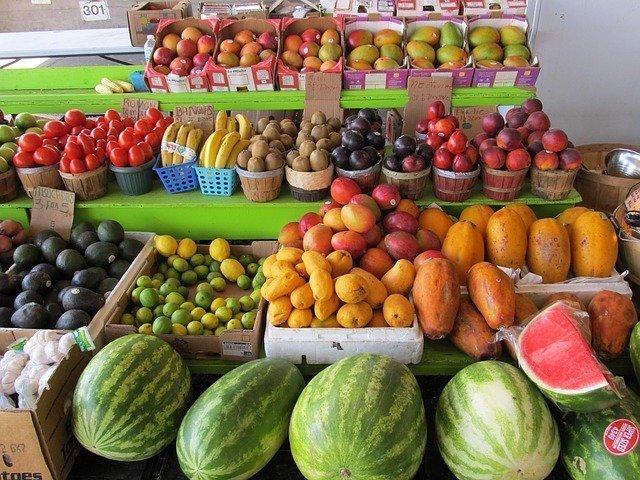 Mercado de alimentos
