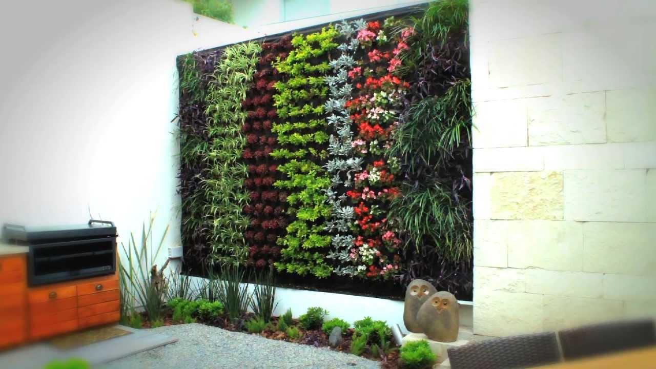 que son los jardines verticales revista cultivarsalud