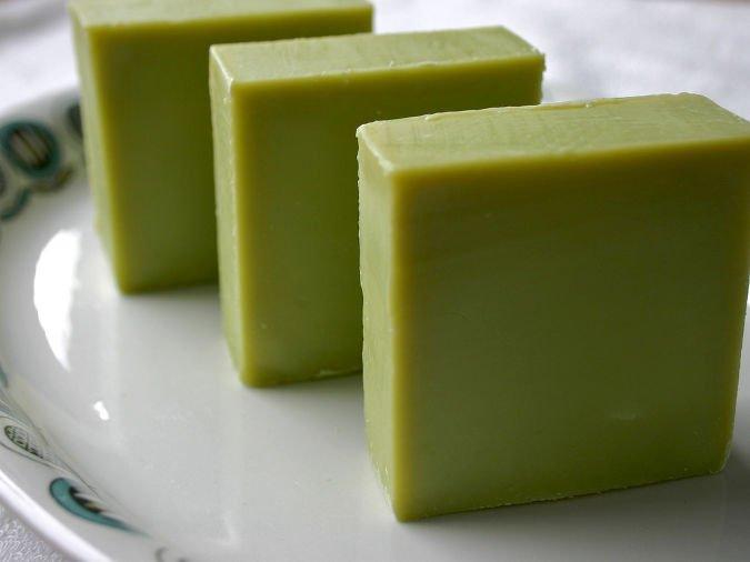 hacer jabón de marsella