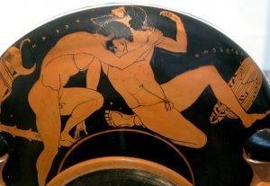 homosexualidad en la antigua grecia