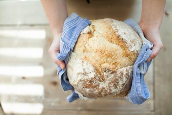 hacer pan en casa