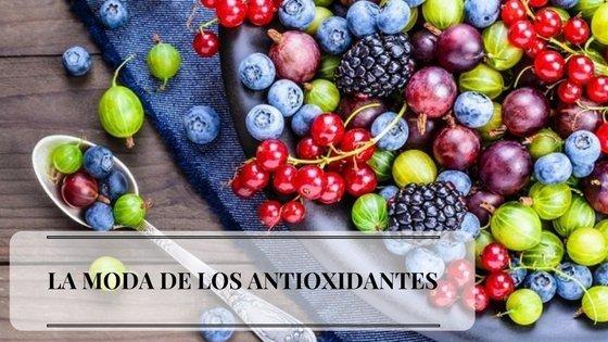 la moda de los antioxidantes