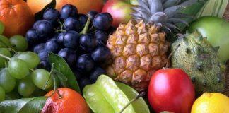 belleza con frutas tropicales