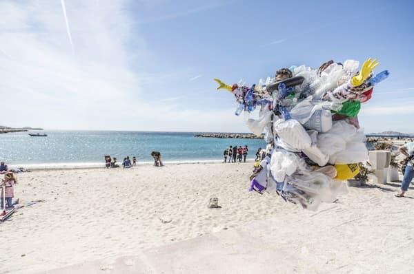 islas de plástico