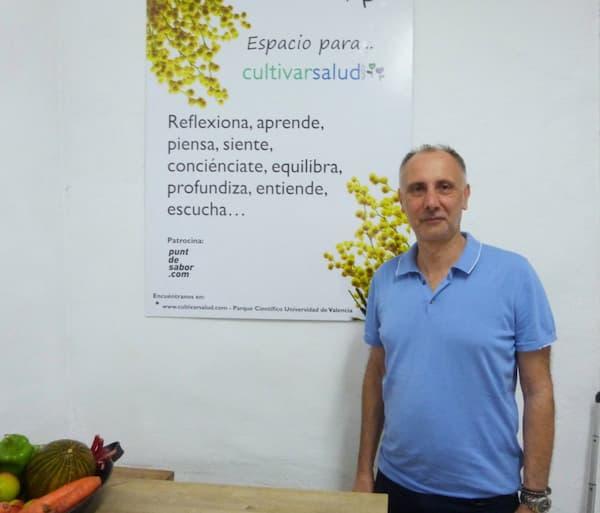 Imagen del primer taller de Cultivar Salud y Punt de Sabor
