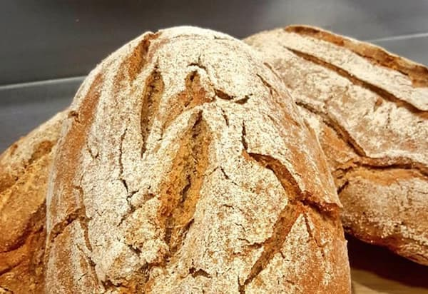 Imagen de pan con trigo sarraceno