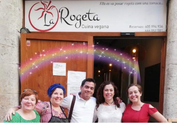 """El equipo de """" La ROGETA"""" y de """" cultivarsalud, al completo. cultivarsalud SANO SABOR"""