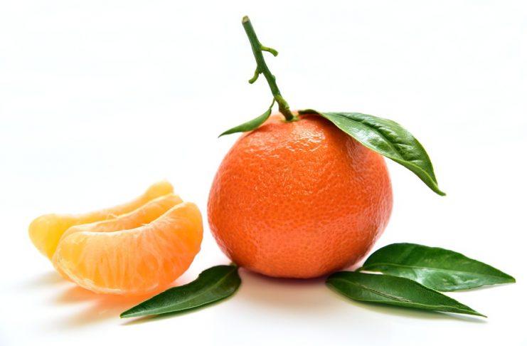 naranja o mandarina