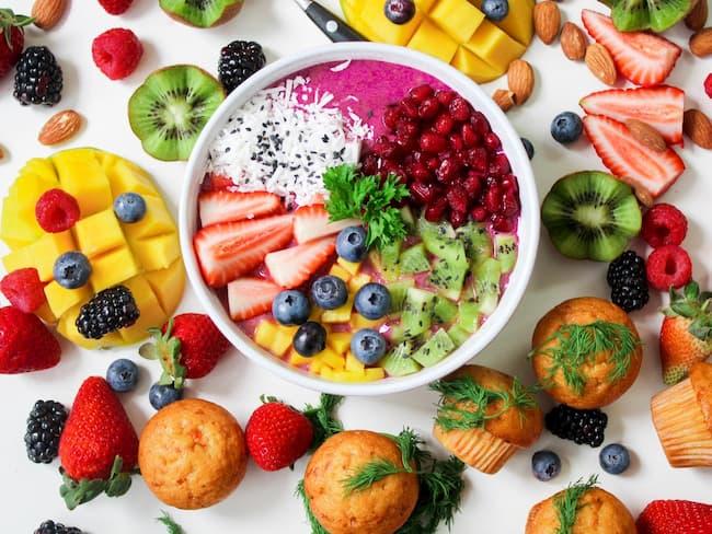 Significado del color de los alimentos