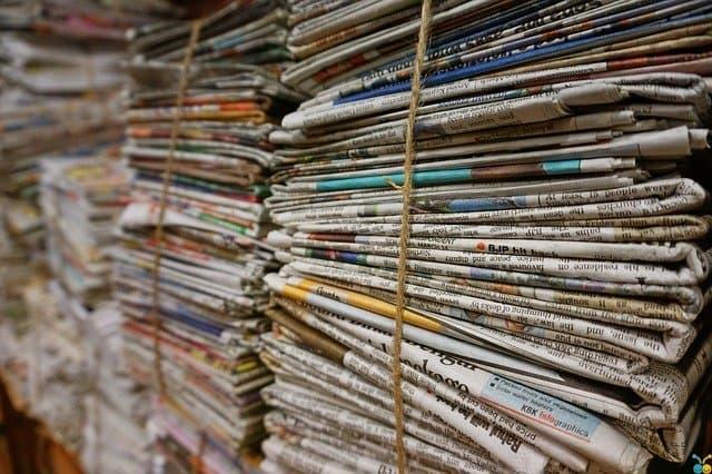 usos del papel reciclado
