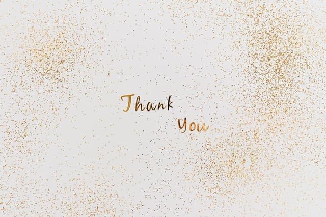 frasco de la gratitud